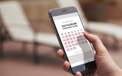 Gratis 30 dagen Instagram content plan