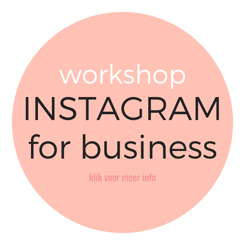 Workshop zakelijk Instragram Maastricht